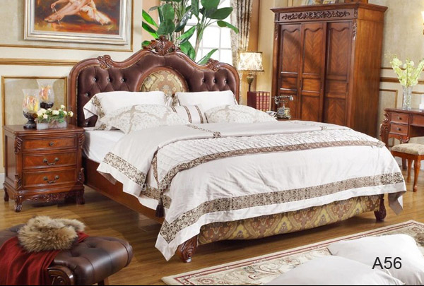 Luxury Furniture King Size Bed,Royal Classic Bedroom Set - Buy King ...