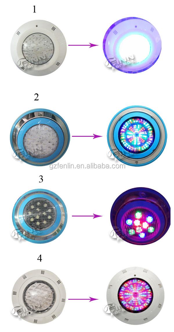 Halogen led rgb underwater swimming pool light factory - Swimming pool light bulbs halogen ...