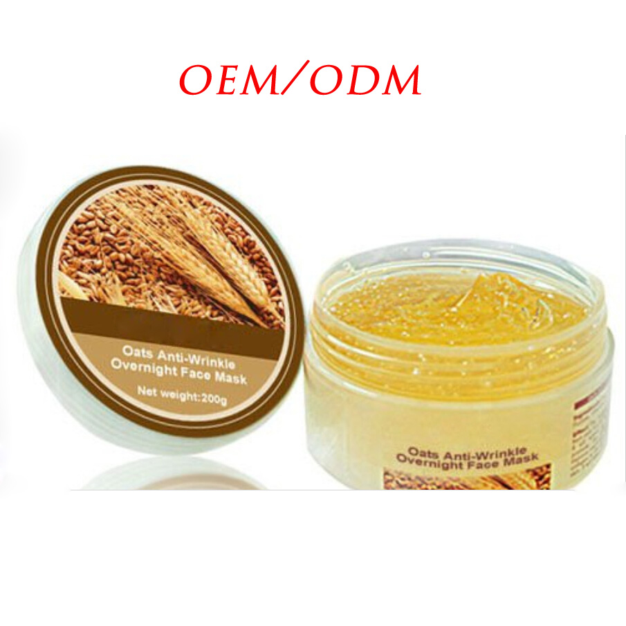 100% Natural Anti-Wrinkle Overnight Gel Face Mask