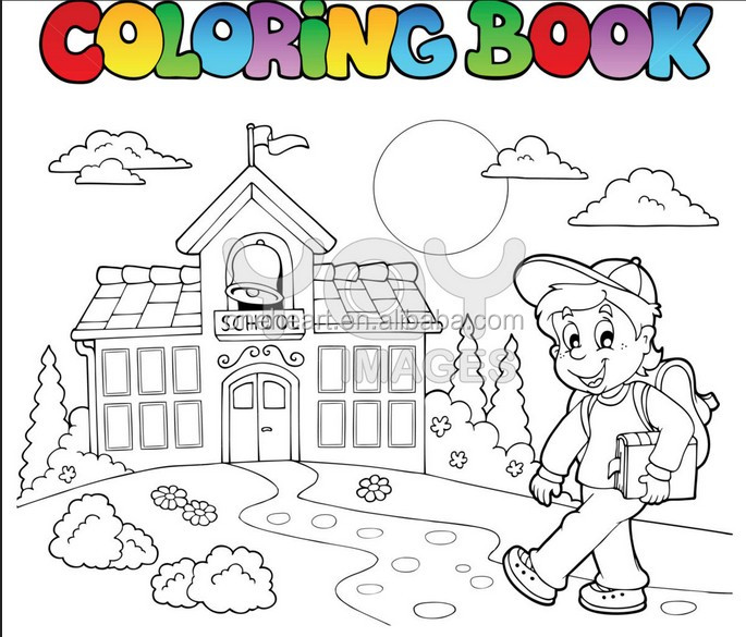 Anak Anak Kartun Buku Mewarnai Dengan Krayon Buy Mewarnai Buku