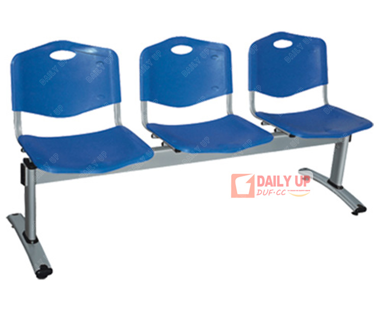 Barber shop waiting chairs pp airport benches lower price for Outdoor plastic bench seats