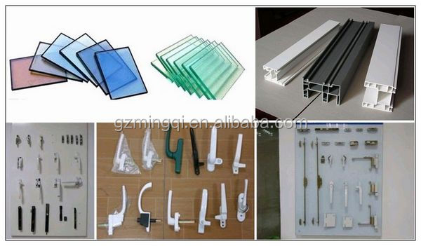 Modern Luxury Reinforcement Upvc Horizontal Sliding Window