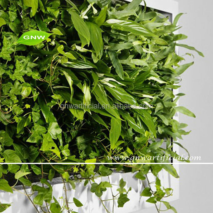 Gnw Glw010 Artificial Vertical Garden Modular Wall For