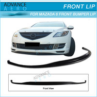For 09 10 11 Mazda 6 Jdm Style Poly Urethane Front Bumper Lip ...