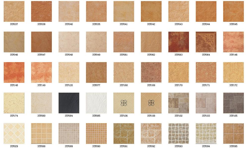 TONIA 300x300 Antique Model Stone Gray Terrace Balcony Ceramic Floor Tiles Flooring Tile