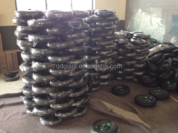 High Quality Plastic Wheels Pneumatic Tire 3.50-6