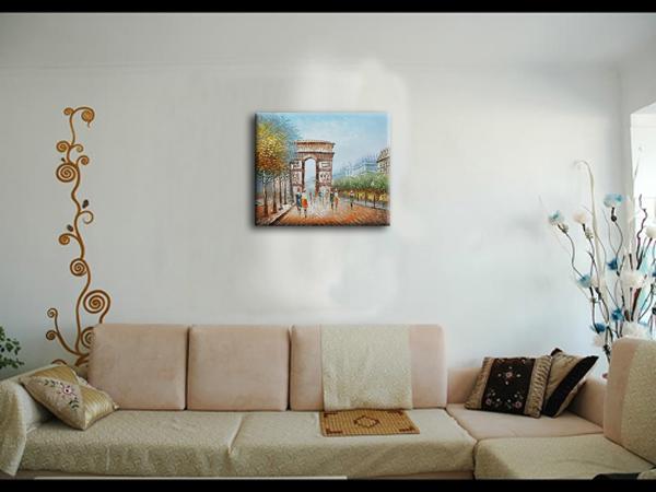 Nieuwe hot ontwerp moderne kunst aan de muur schilderen met de