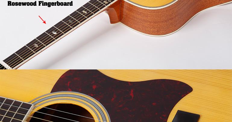 Beautiful Design Guitar With Nato Guitar Neck,Ag620s