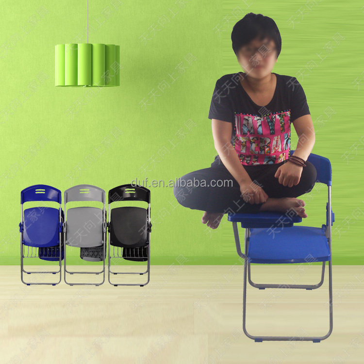Writing Tablet Chair Children Plastic Table And Chairs Wholesale