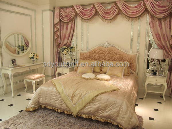 Yb09 High End Factory Manufacture Solid Wood Royal Furniture