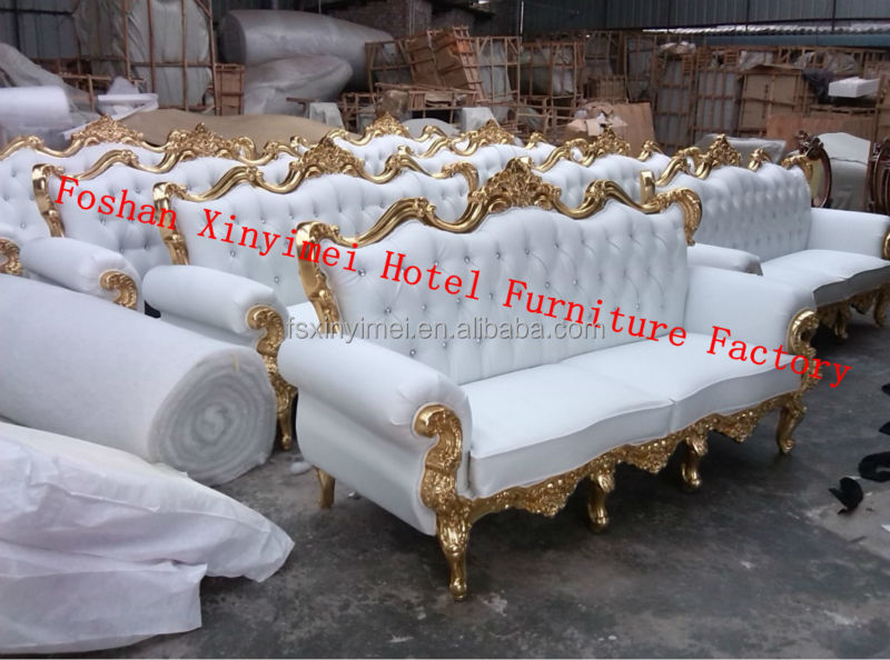 Indonesia French Antique Reproduction Furniture Two Seat Sofa ...