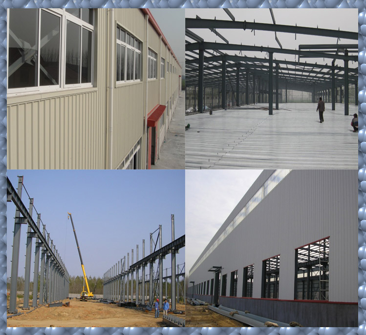 steel structure storage shed