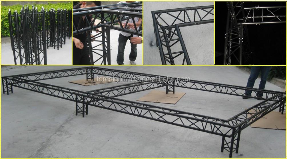 high quality aluminum lighting truss outdoor stage truss aluminium girder & High Quality Aluminum Lighting Truss Outdoor Stage Truss Aluminium ... azcodes.com