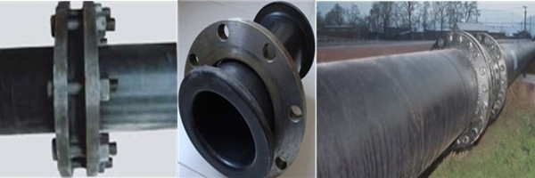 Hdpe uhmwpe pipe used spray anti corrosion steel flange