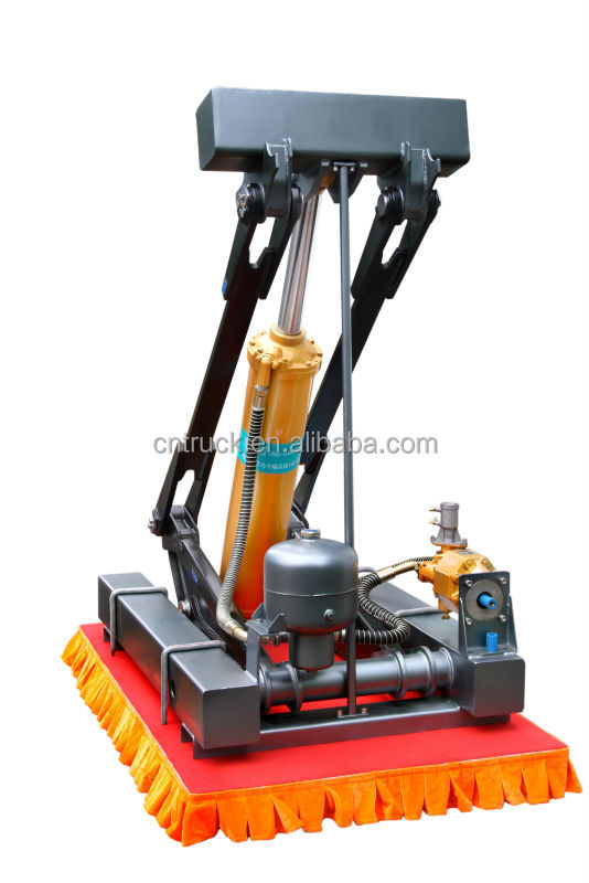 Hydro Lift System : F type ventral tipping dump truck hydraulic cylinder
