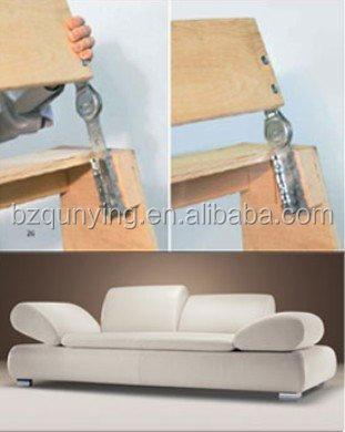 Adjule Ratchet Metal Sofa Bed Hinge Folding Spfa Mechanism With Spring Furniture Joint Hardware Sectional