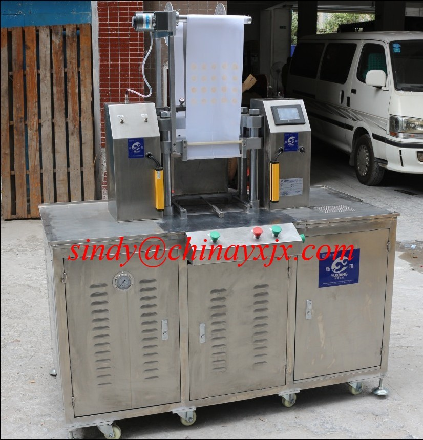 Semi-automatic Chemicals Powder Pressing Machine (Eye Shadow