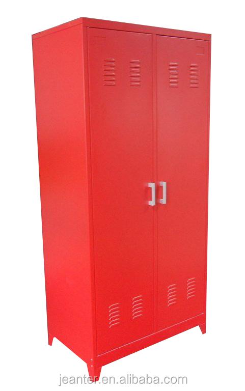 Metal Wardrobe Cabinet With Lock,Steel Lockable Wardrobe Cabinet ...