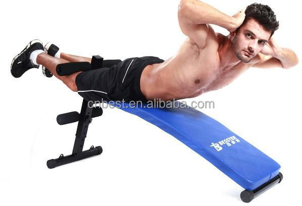Best Js-005cb Ab Sit Up Trainer Home Gym Bench Seat Fitness ...