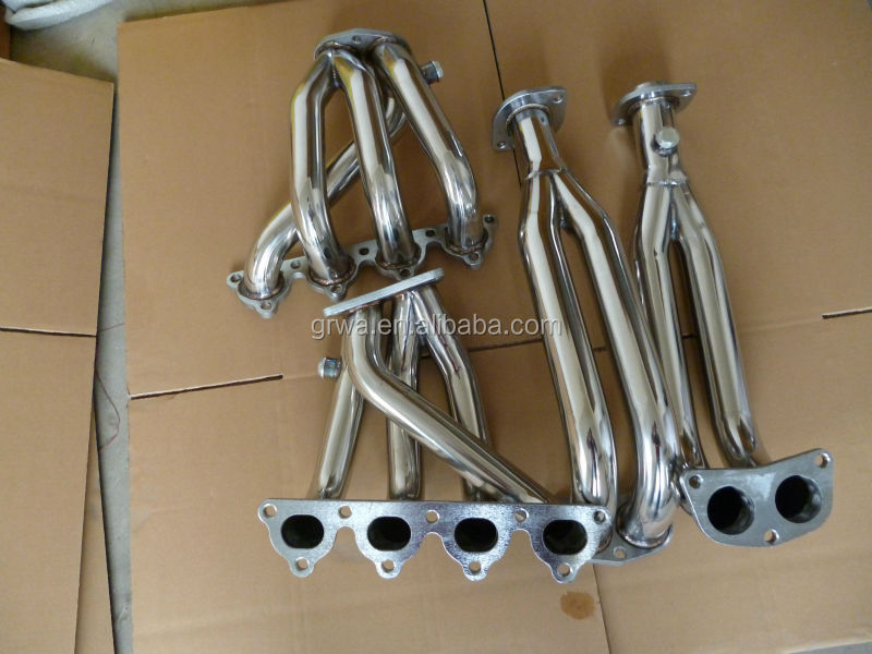 stainless steel exhaust header suit for honda civic