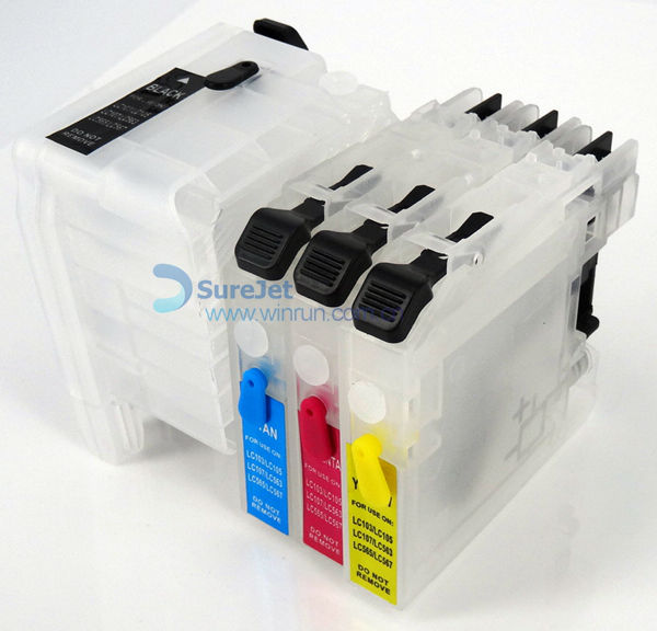 Lc525 529 For Brother Dcp-j105 Ciss Ink Cartridge