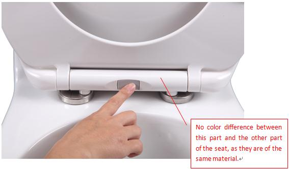 euro hot selling soft close toilet seat