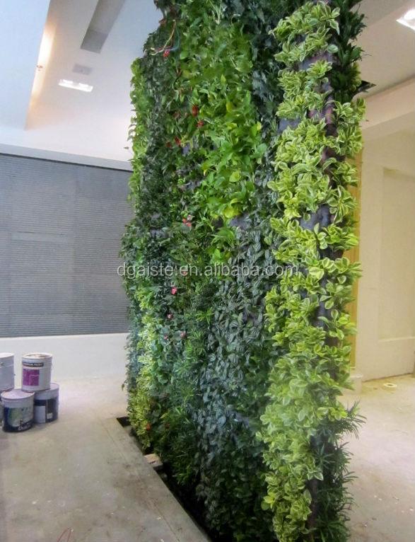 Hot Sales Artificial Living Wall,plastic Garden Walls,special Design Fake  Plants Wall