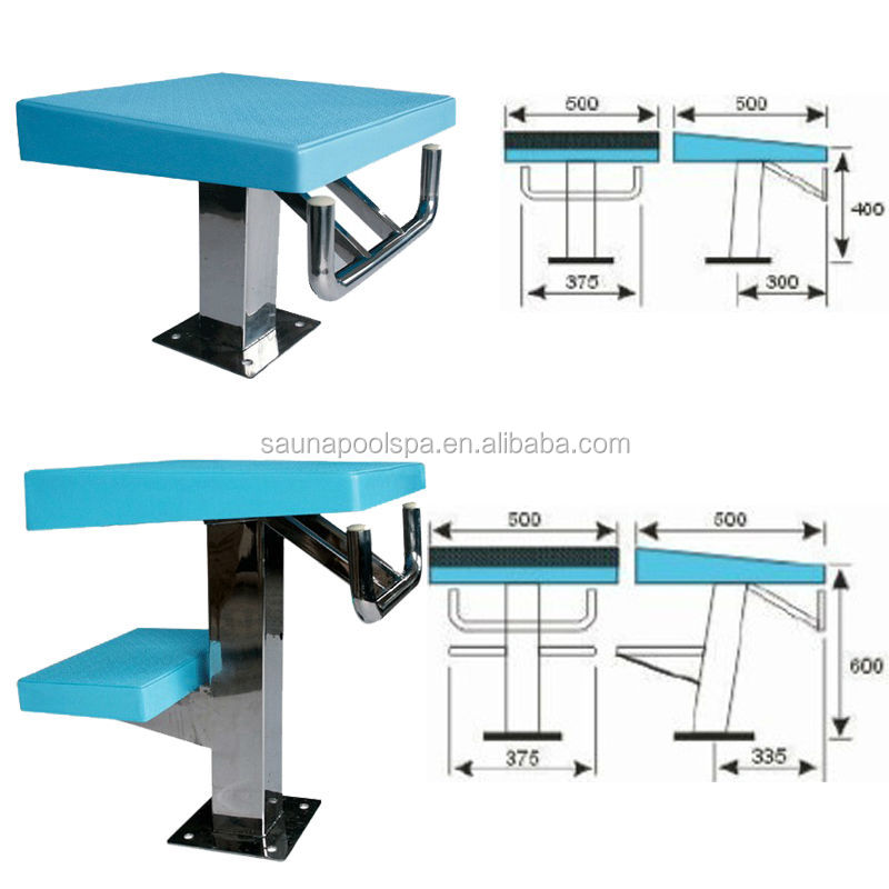 Starting platform buy starting block for swimming pool starting blocks used swimming pool for Swimming pool starting blocks dimensions