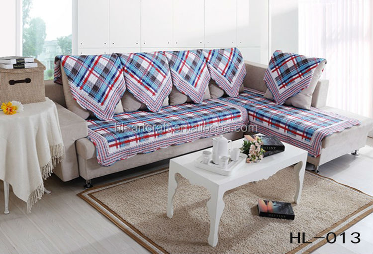 2017 New Design Hot Cotton Sofa Cover Whole