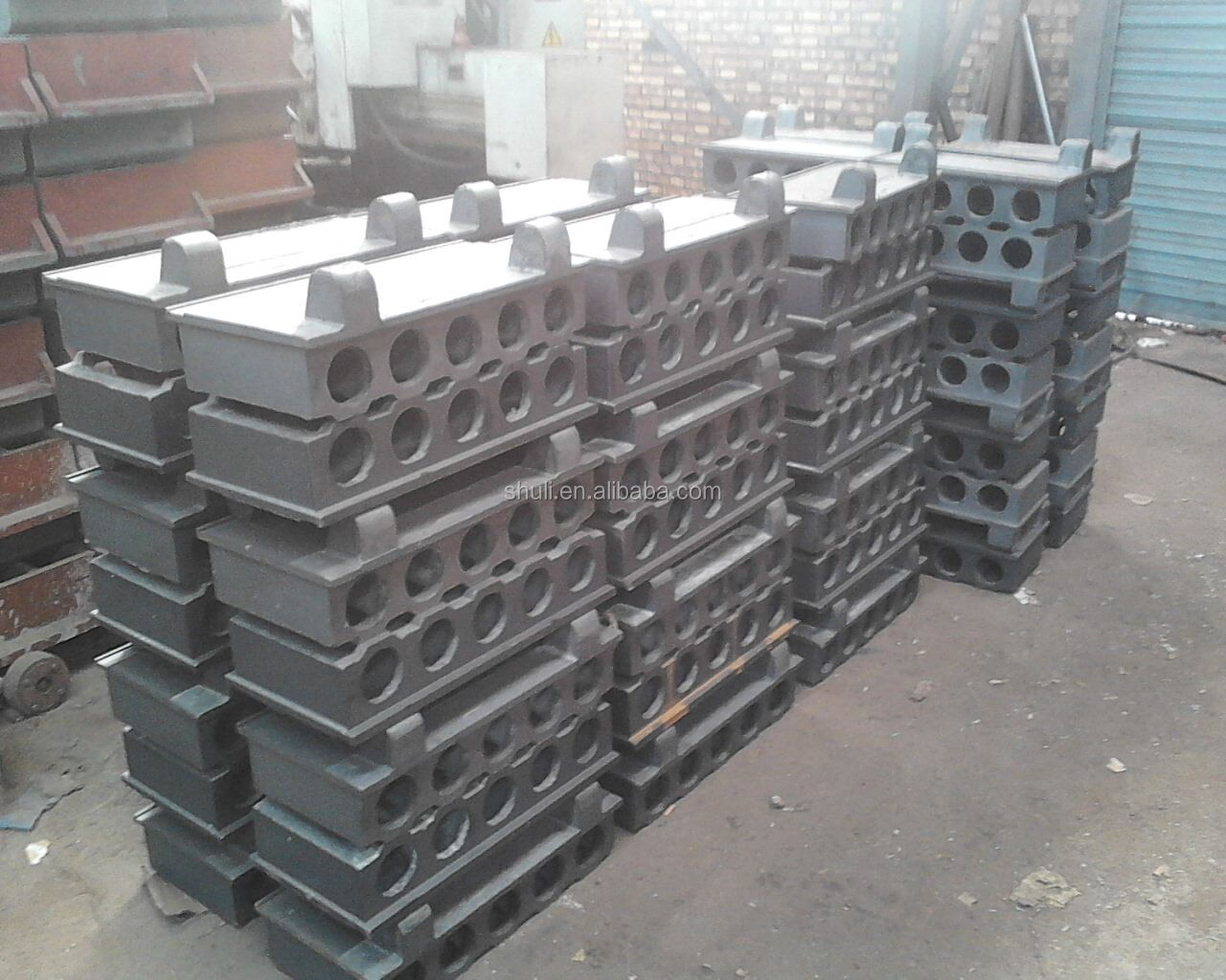 Precast Concrete Wall Panels Attachment : Concrete floor slab making machine precast wall
