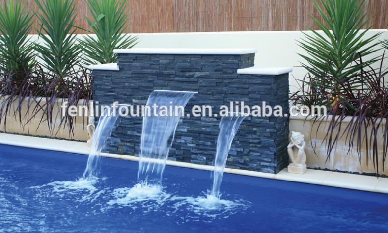 Swimming Pool Stainless Steel Indoor Wall Water Features Buy Wall
