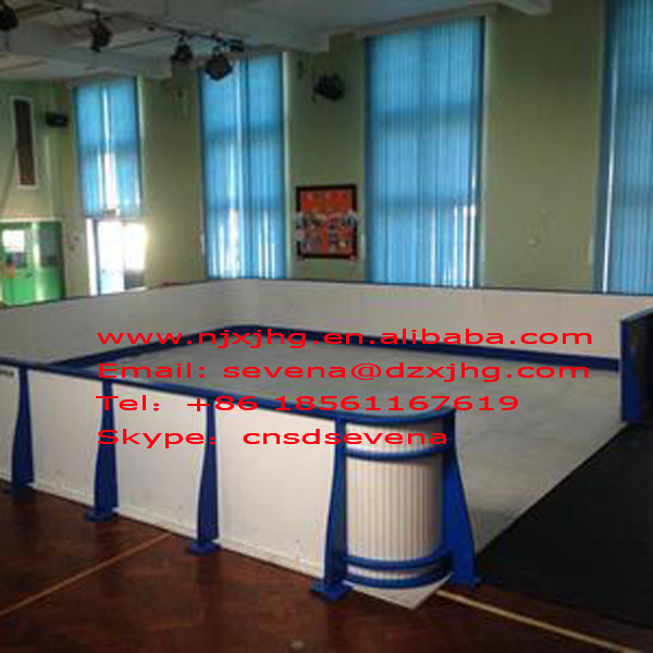 hot sale complete set synthetic ice hockey shooting rink ...