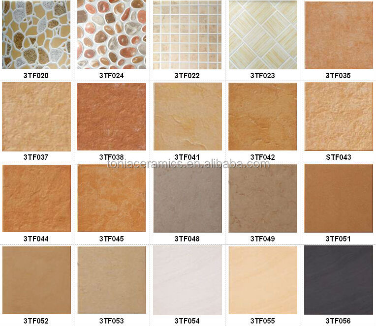 Density of ceramic tiles rustic tile iranian tiles 30x30 Different design and colors of tiles