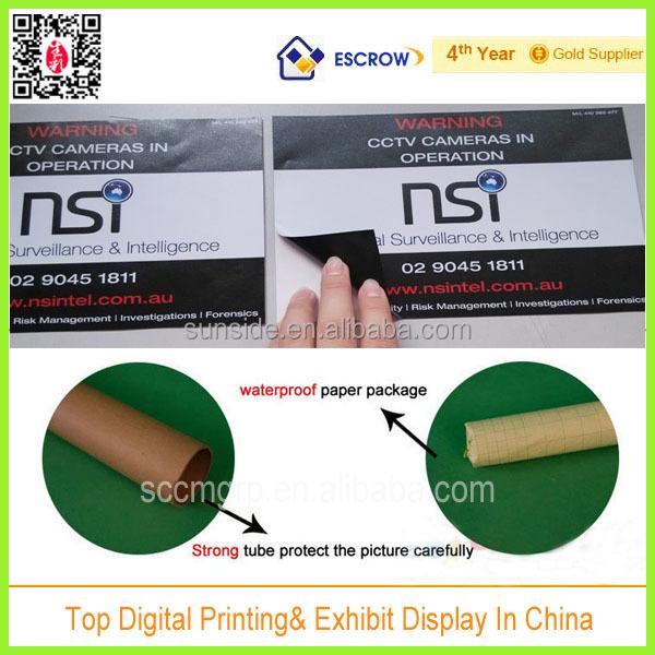Decorative removable 3d vinyl floor stickers in hk