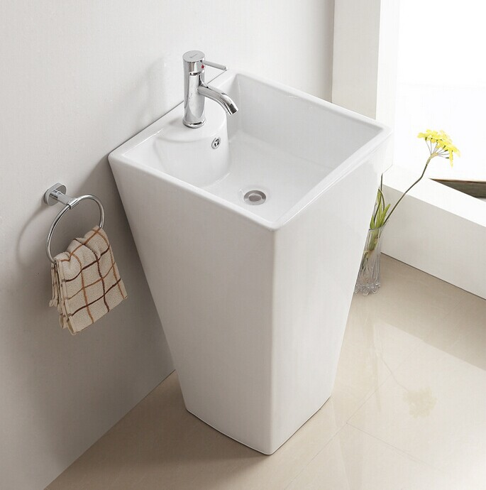 3006 Free Standing Sanitary Ware Floor Mount Wash Basin