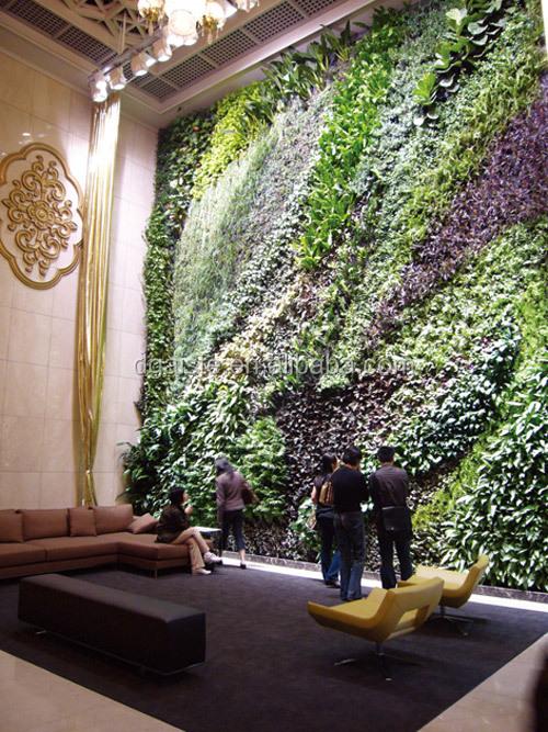 Haute Qualité Artificielle / Faux Mur Végétal / Plante Artificielle ...