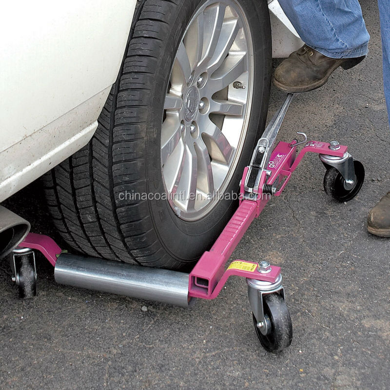Car Wheel Dolly >> Hydraulic Vehicle Dolly Set Portable Car Lift Tire Changer Jack