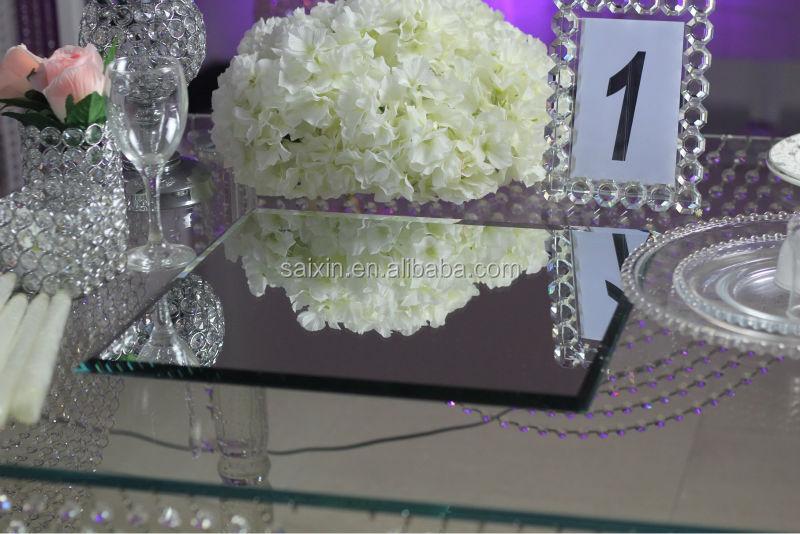 Wedding Centerpiece 4040cm Square Mirror For Candelabra Base Buy