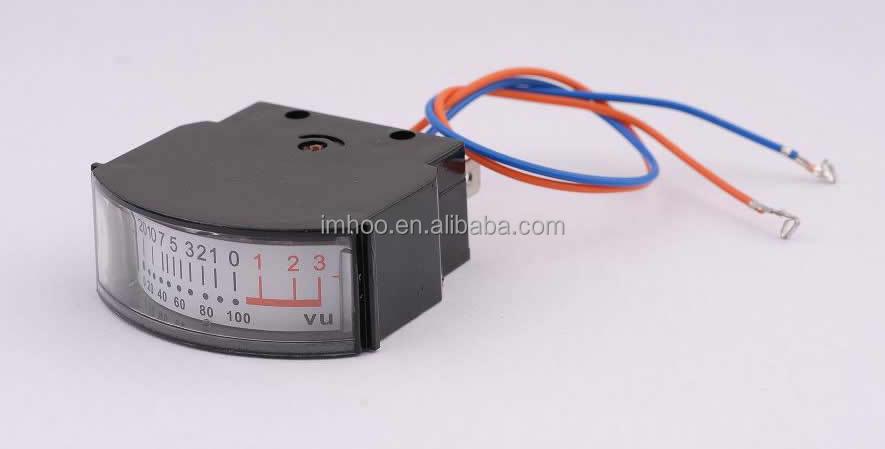 Analog Vu Meter : Edgewise meter analog vu tp