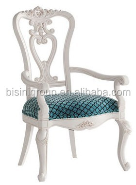 bisini muebles antiguos real estilo francs blanco cuchara silla trasera del comedor silln de madera silla