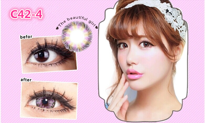 Lemon Tree Contact Lenses Lens Lovly Eye Contact Lenses 3 Tone ...