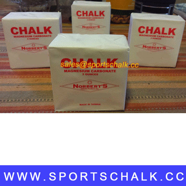 Chalk Bag For Bowling: Sports Chalk/magnesium Carbonate Gymnastic Chalk