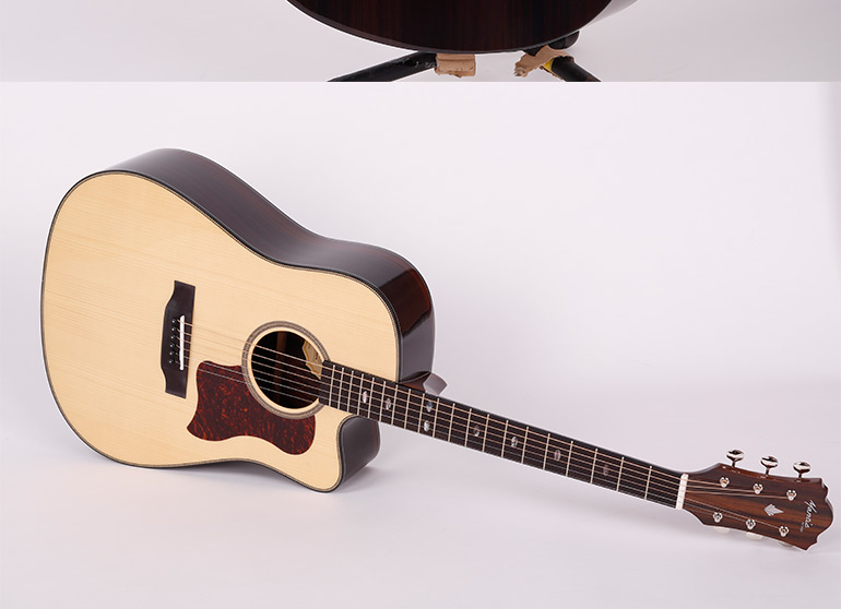Good Craftsmanship All Wood Acoustic Guitar By Mantic,Ag650sc ...