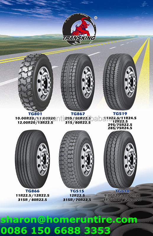 Cheap Mud Tires For Trucks >> TRANSKING Truck Tire NEW Designed Pattern TG801 295 80r 22.5 tires,tires for trucks 295 80 22.5 ...