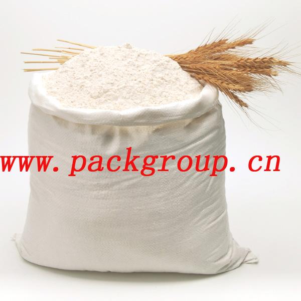 50kg Woven Polypropylene Bags For Flour Wheat Flour Sacks Virgin ...