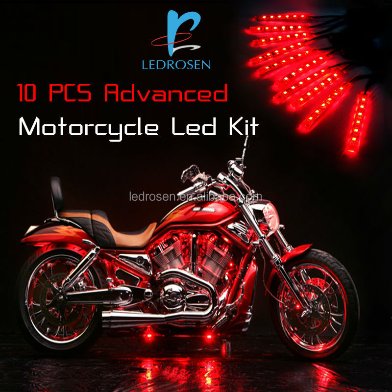 Decorative Motorcycle Led Light Kit With Remote And Controller Buy Motorcycle Led Light High