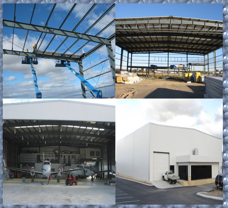 ISO 9001:2008 prefab insulated warehouse