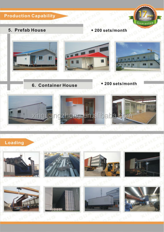long life-span steel structure workshop plant warehouse construction