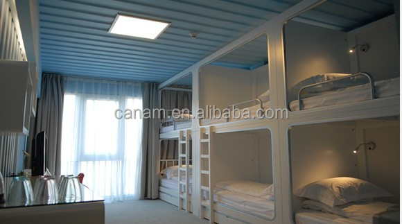 Holiday container house steel prefabricated houses