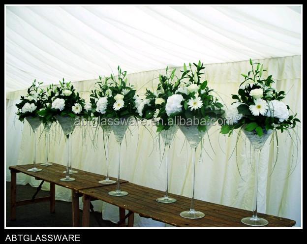 Hoch Martini Glas Vasen Fur Hochzeit Buy Hoch Martini Glas Vasen